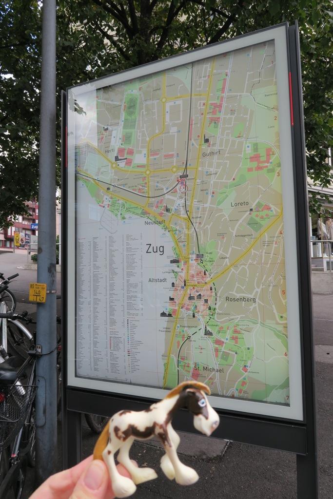 Rick The Traveller: Zug