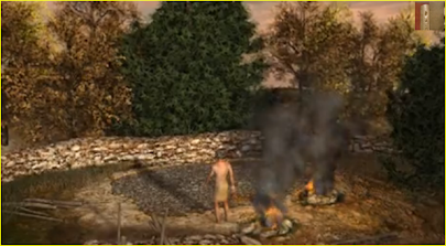 Oria - la capanna neolitica di sant'anna