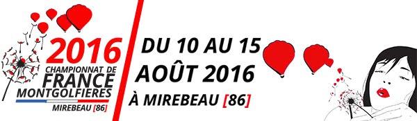 Championnat de France des Montgolfières 2016