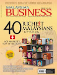 LIST OF 2012 40 RICHEST MALAYSIANS IN MALAYSIAN BUSINESS