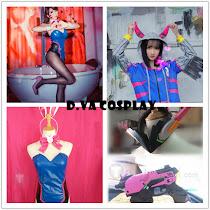 D.Va Cosplay Costumes&Props