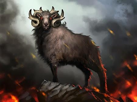 Evil sheep - photo#18