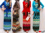 Gamis Spandex + Cardi SOLD OUT