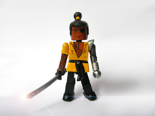 Lukas Rand Tetsuwan Minimate - Tournament of Fighters