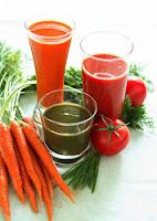 jus de légumes et de fruits