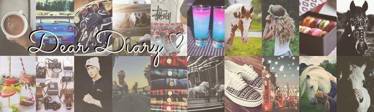 Dear Diary ♡