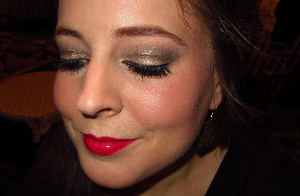 chikarina mein weihnachts make up 2012