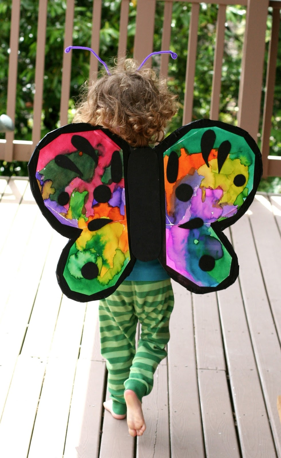 How to make butterfly costume wings - photo#14