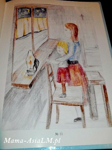 tęczowe klocki - książka, bajka, wierszyk dla dzieci - ilustracja