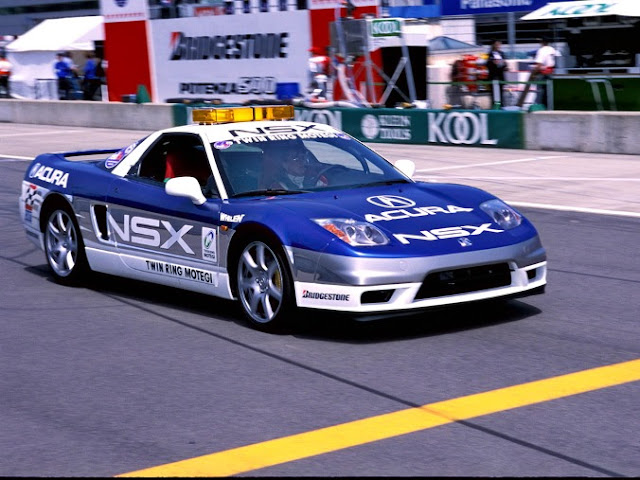 Acura NSX Twin Ring Motegi Pace Car