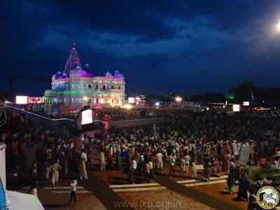 Jagadguru Kripaluji Maharaj's Janmashtami discourse at Prem Mandir