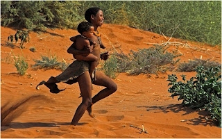 20120917 hodgson ao kalahari tribeswoman and child 2012   Monthly Competition: Night Photography