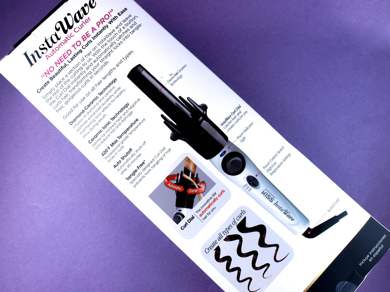 Kiss InstaWave Automatic Curler: Review