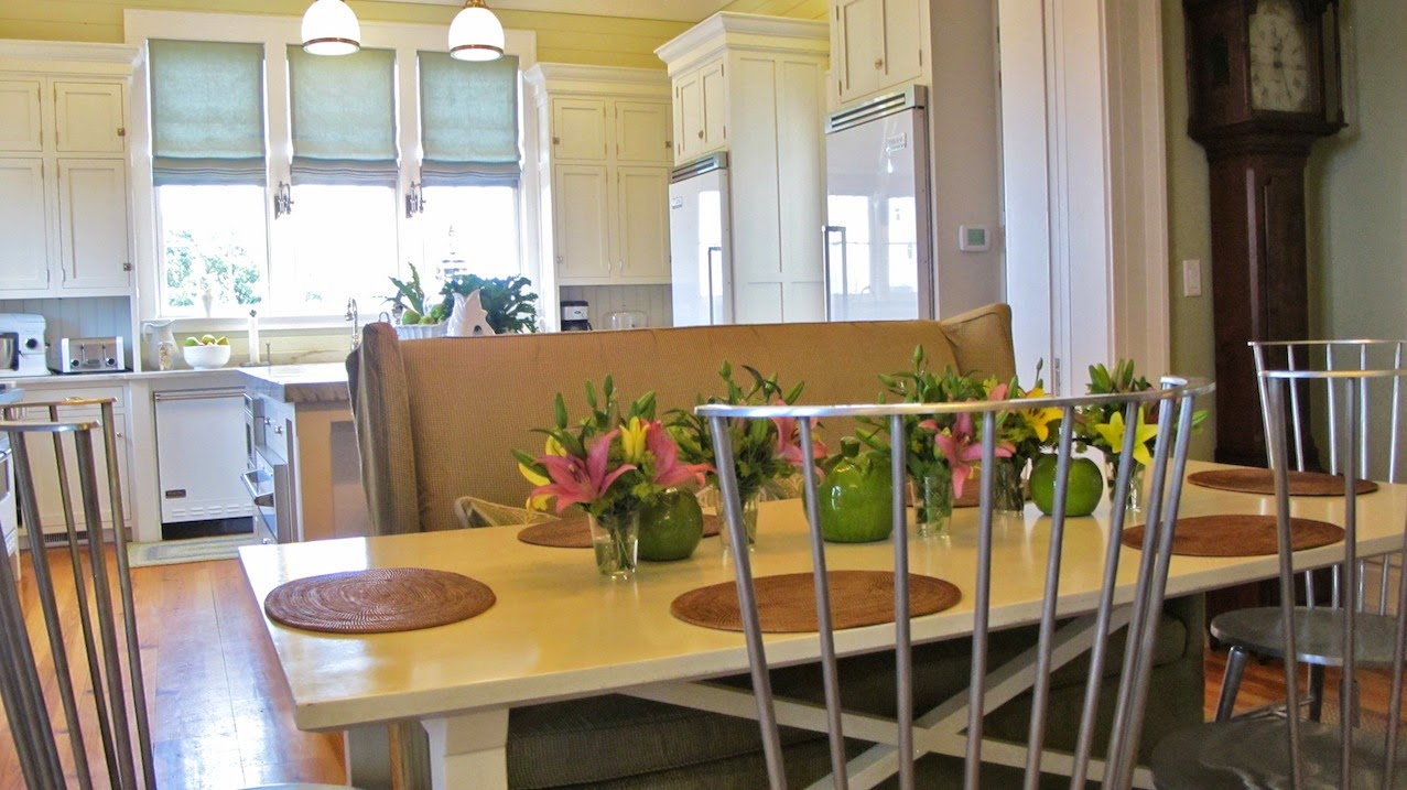 P Allen Smith Moss Mountain Garden Home kitchen shot flowers (c)nwafoodie