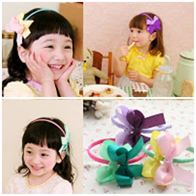 Doublebow hairband -- HA711 available in 3 color Price:RM18 per pc