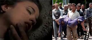 Muerte de Victoria (Adriana Ugarte) en 'La Señora'