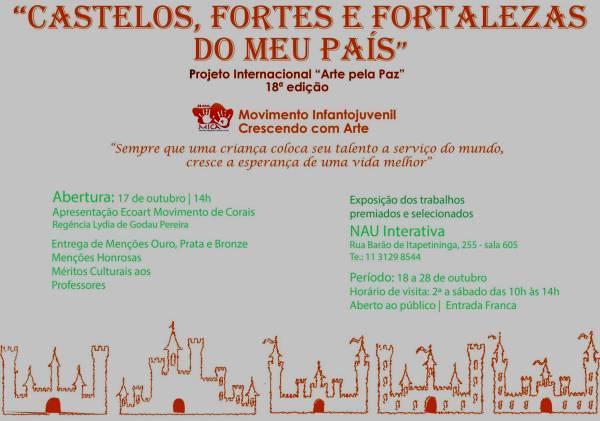 """Projeto Internacional """"Arte pela Paz"""""""
