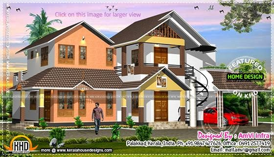 House concept rendering