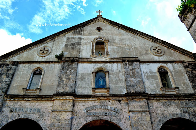 baclayon church in bohol