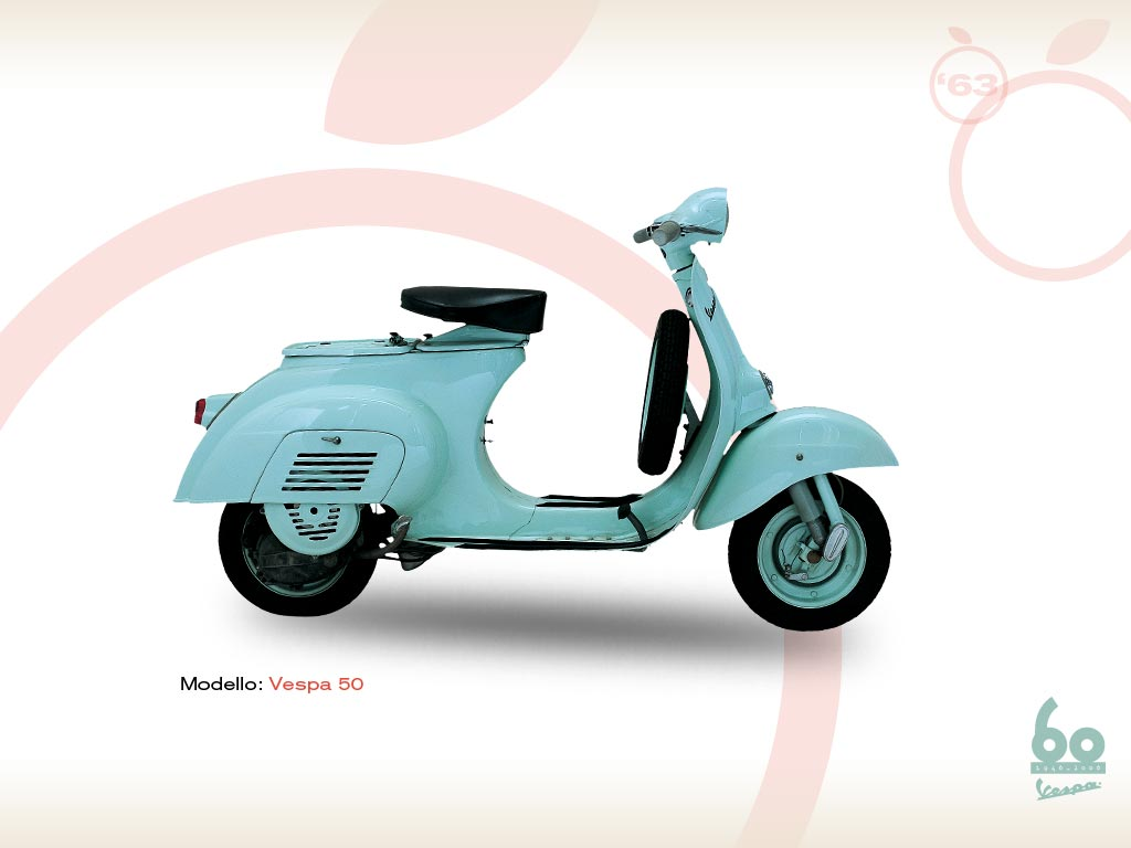 vespa 50 1963 vespa scooters. Black Bedroom Furniture Sets. Home Design Ideas