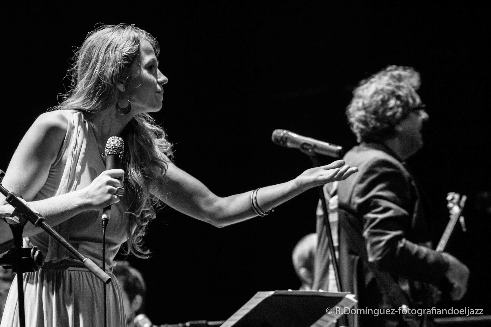 © R.Domínguez - Vicens Martín Dream Big Band & Gemma Abrié