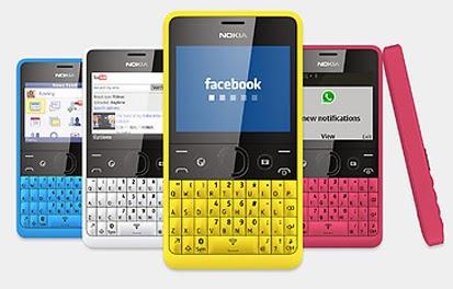Info Daftar Harga Hp Nokia Asha Terbaru Desember 2013