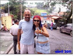 Marah Mends e Paulo Lins.