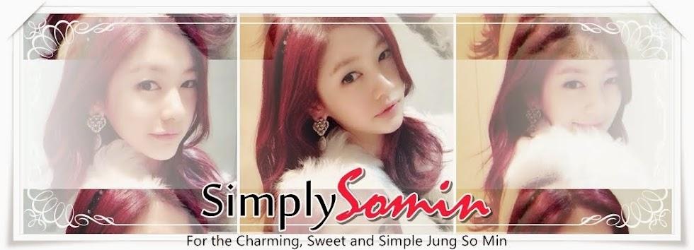 Simply 정소민 Jung So Min
