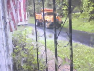 Raining Orange Trucks