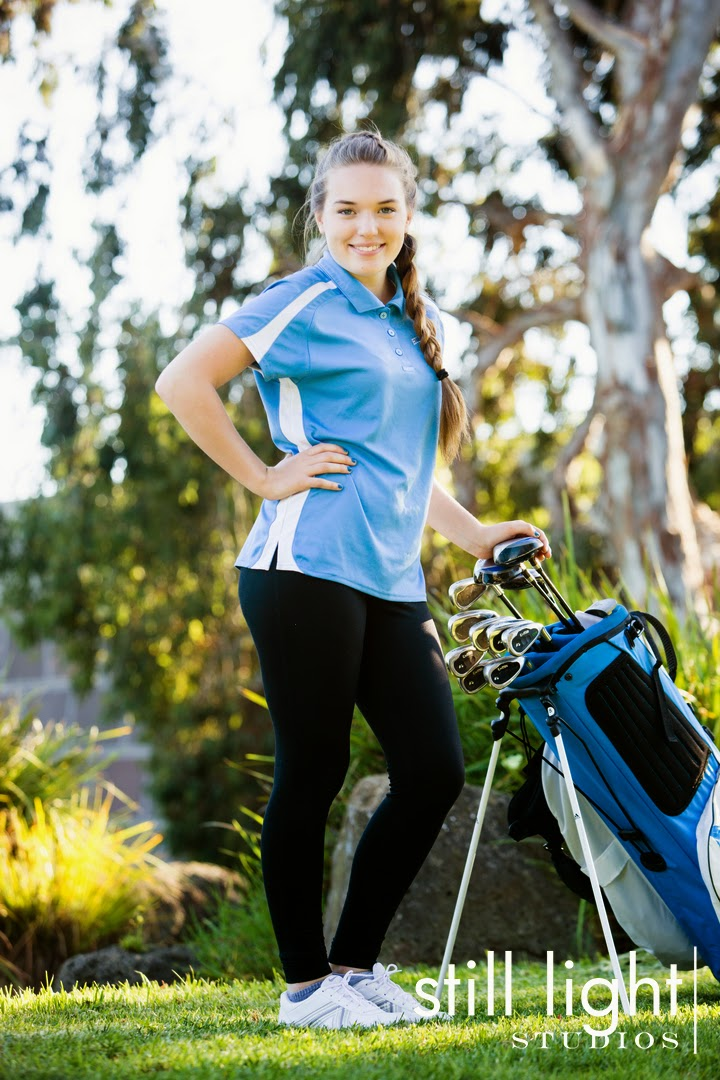 San Mateo Hillsdale High School Girls Golf Team Photo by Still Light Studios, School Sports and Senior Photography in Bay Area