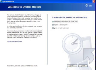 how to restore your pc