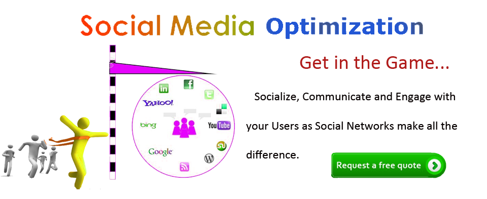 Social Media Optimization Banner