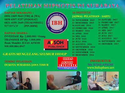 Training Hipnotis di Surabaya