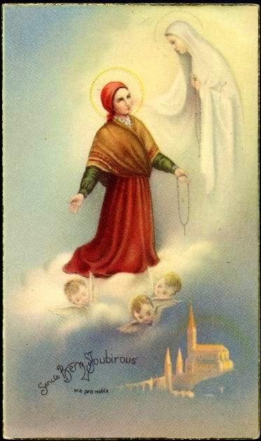 Eu, Bernadette, estou convosco todos os dias, nas vossas orações, nos vossos sofrimentos,...