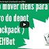 Action para abrir depot ( Locker ) e mover item para uma backpack