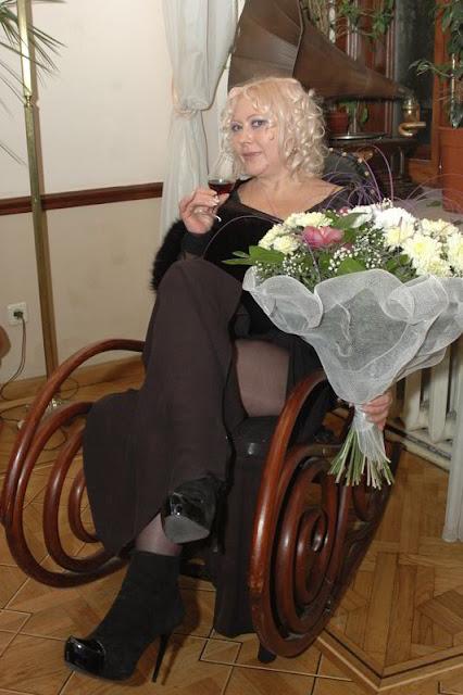 Фото Укринформ: поэтесса Лилия Золотоноша