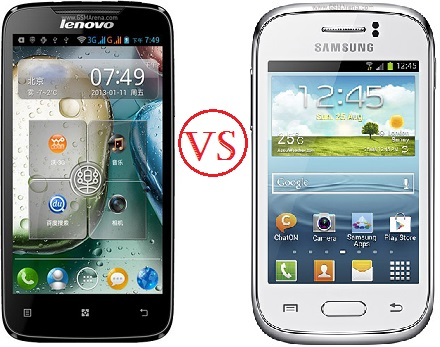bagusan mana Lenovo A390 vs Samsung Galaxy Young S6310, android harga