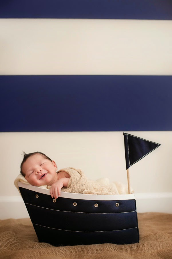 Nautical by Nature | Nautical Photo of the Week: Baby in a BOAT by Michelle Lindsay