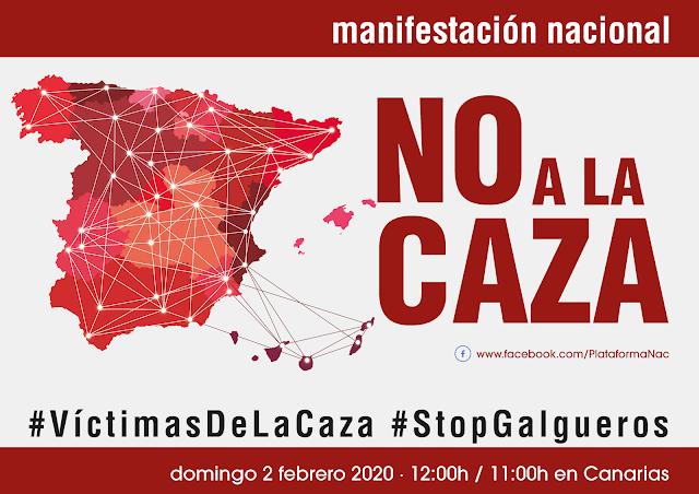 MANIFESTACIÓN-NO A LA CAZA - 2F