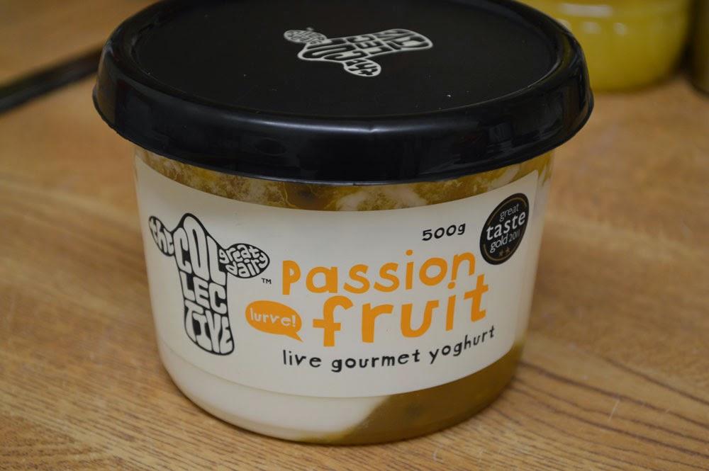 Passionfruit creamy yoghurt