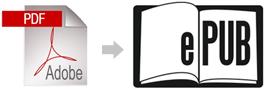 de pdf a epub en Ubuntu