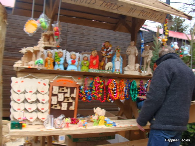 Crafts and Toys at Christmas Market