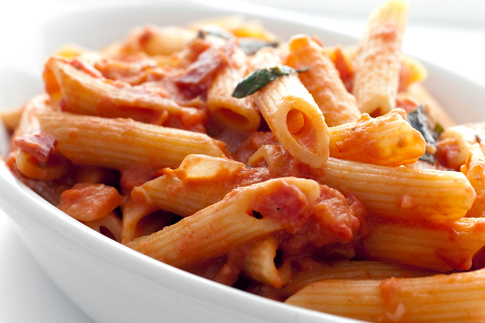 Bashionista: Penne with Skyy Vodka Sauce and Cajun Airline Chicken