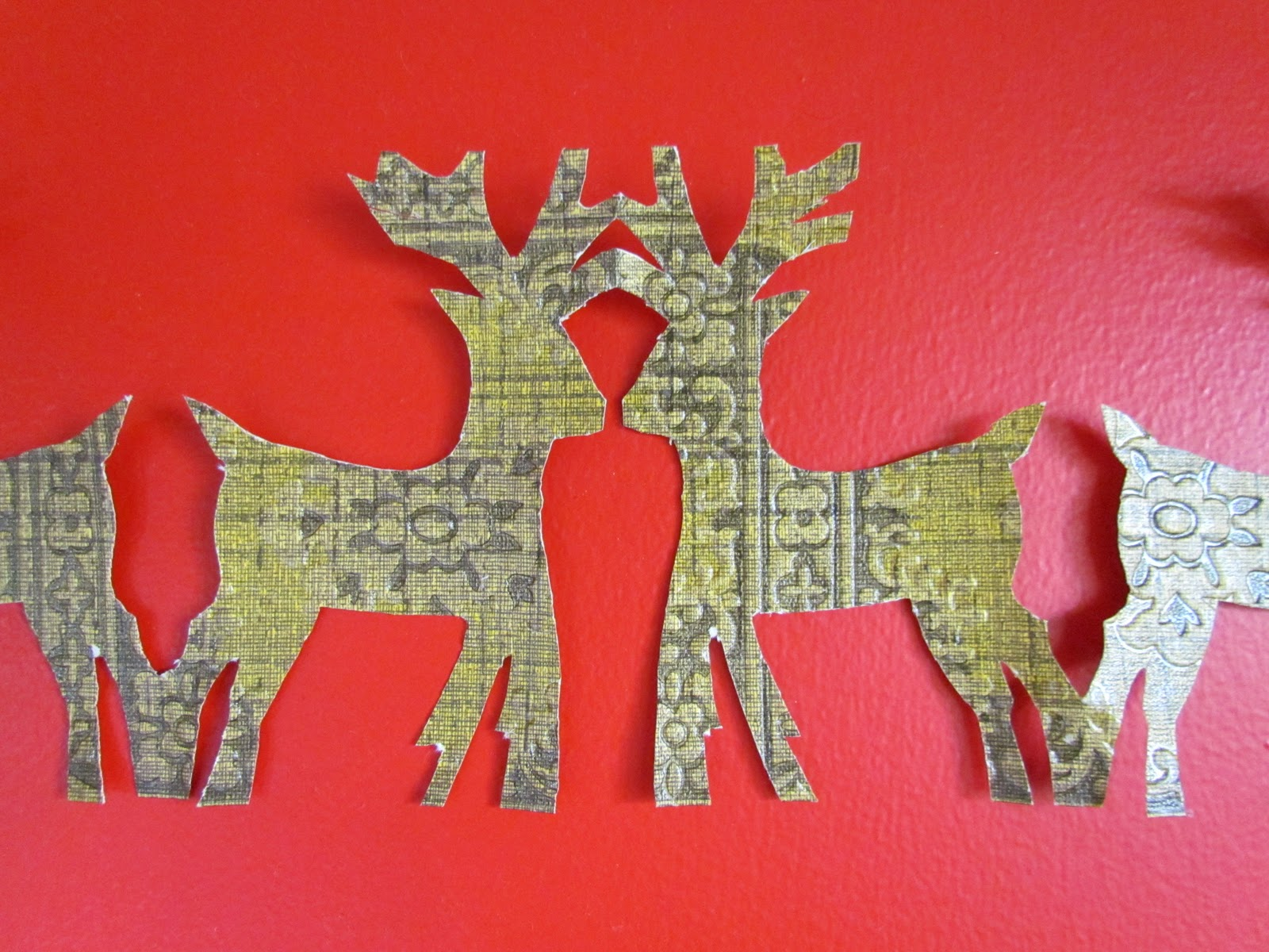 sister outlaws: Christmas craft: Paper