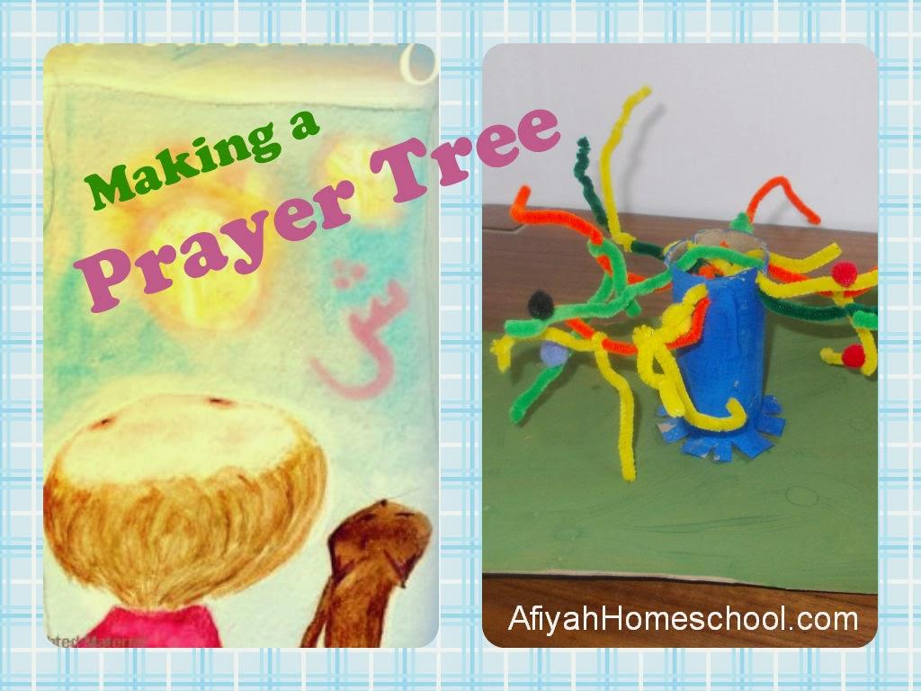 Making a prayer tree