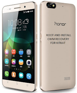 How to root Huawei Honor 4c and Install CWM recovery for Kitkat