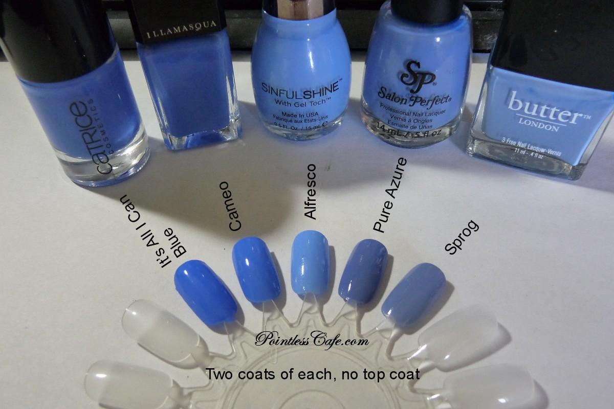 Comparison Request Periwinkle Blue Comparison Pointless
