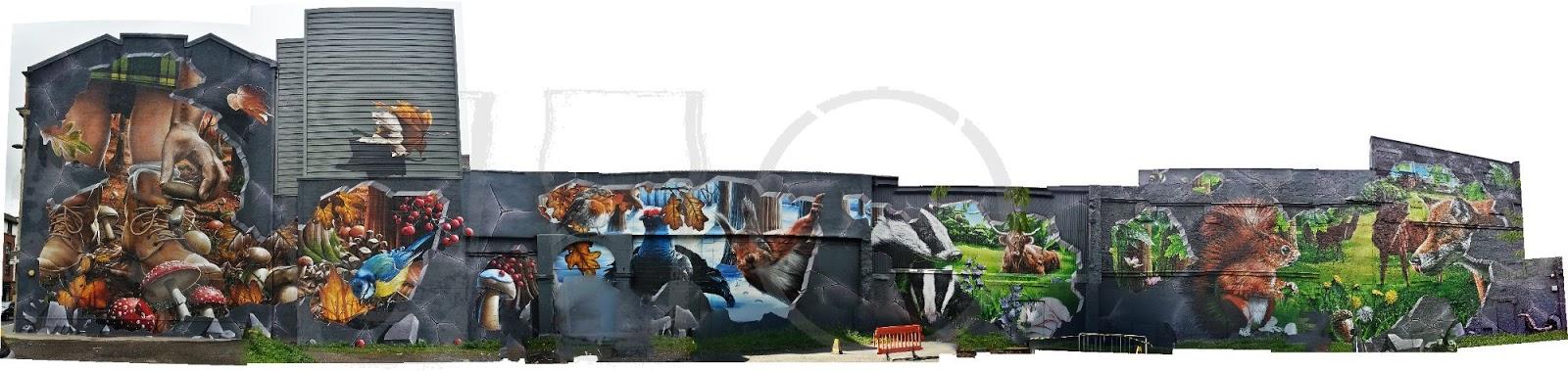 Ingram St Mural, Glasgow