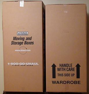boxes in wardrobe price haul u closet from uhaul with conjunction at