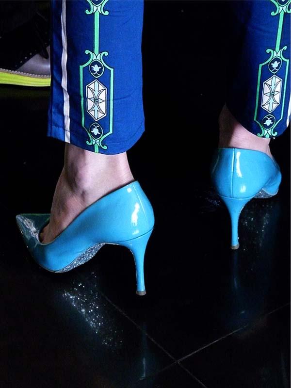 street style women shoes como una aparición